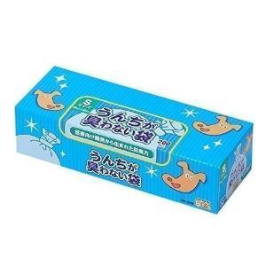 クリロン化成 BOS-2344A BOS 驚異の防臭袋 ボス うんちが臭わない袋 Sサイズ大容量 200枚入 ペット用 BOS2344A うんち処理袋 ブル−|1|bestone1