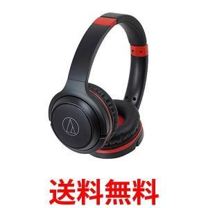 audio-technica ATH-S200BT BRD オーディオテクニカ Bluetooth対応 ワイヤレスヘッドホン ブラックレッド ATHS200BT BRD|1|bestone1