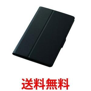 ELECOM TBD-HW48AWVFUBK エレコム TBDHW48AWVFUBK dtab Compact d-01J フラップカバー 薄型 スタンド ブラック|1|bestone1