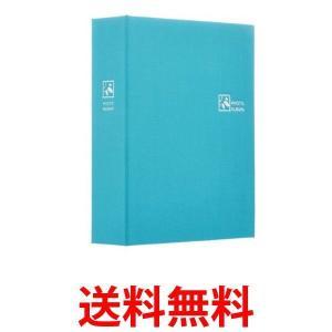 ナカバヤシ TCPK-L-160-PB ポケットアルバム L判160枚 ピュアブルー TCPKL160PB TCPKL160|1|bestone1