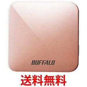 BUFFALO 無線LAN親機 WMR-433W-PG エアステーション 11ac/n/a/g/b 433/150Mbps ピンクゴールド WMR433WPG|1|bestone1