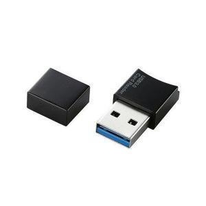 ELECOM MR3-C008BK エレコム MR3C008BKカードリーダライター microSD専用 USB3.0 コネクタキャップ付 ブラック USB接続|1|bestone1