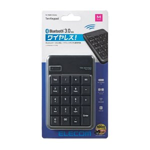 ELECOM TK-TBM016BK エレコム TKTBM016BK Bluetoothテンキーボード メンブレン 高耐久 ブラック|1|bestone1|02