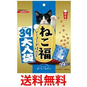 日清ペットフード  ねこ福 39大入り袋 シーフード味 117g キャットフード スナック 猫用 おやつ|1|bestone1