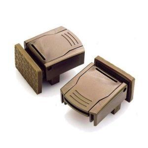 Seiei 清水産業 スーパーマドガチット サッシ 防犯 窓枠 ロック 2Pー ブロンズ 補助錠 ダブルロック|1|bestone1