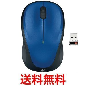 Logicool M235rBL ロジクール ワイヤレスマウス M235r ブルー 無線 小型|1|bestone1