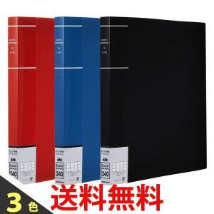 ナカバヤシ PH6L-1024 ポケットアルバム フォトグラフィリア PH6L1024 -R -B -D L判 240枚収納 L3段6面ポケット 写真整理|1|bestone1