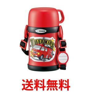 ZOJIRUSHI SC-ZT45-RA 象印 SCZT45RA 水筒 2WAY コップ&ストロー ステンレスボトル 450ml レッド|bestone1