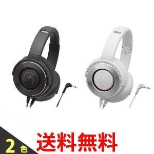 audio-technica ATH-WS550 BRD WH オーディオテクニカ ATHWS550 ダイナミック密閉型ヘッドホン SOLID BASS|bestone1