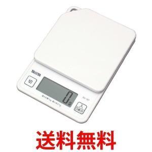 TANITA KD-187-WH タニタ デジタルクッキングスケール 1kg ホワイト 計量 量り ...