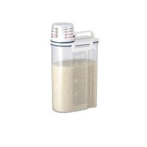 ASVEL 7509 アスベル 密閉米びつ2kg ホワイト 冷蔵庫|1|bestone1