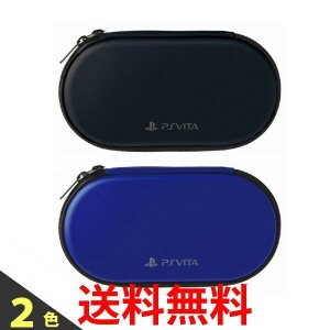 PS Vita Newハードポーチ for PlayStationVita BLACK BLUE ケース  PCH-2000 / 1000 HORI ホリ|1|bestone1