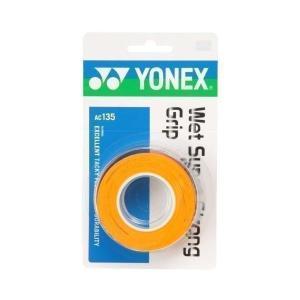 ヨネックス AC135 ウェットスーパーストロンググリップ ブライトオレンジ YONEX