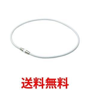 磁気ネックレス チタンネックレス ラクワ RAKUWA ホワイトシルバー 45cm ファイテン ph...
