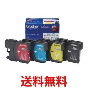 brother LC11-4PK ブラザー LC114PK 純正 インクカートリッジ 4色セット