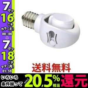 musashi DS17-10 ムサシ DS1710 E17 LED電球 専用 可変式ソケット 斜め付け ダウンライト 屋内用|1|bestone1