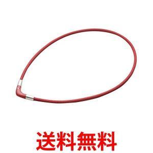 磁気ネックレス チタンネックレス Vタイプ ラクワ RAKUWA 赤 ボルドー 45cm ファイテン phiten 肩こり|1|bestone1