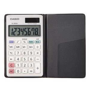 CASIO SL-300A-N パーソナル 電卓 8桁 手帳タイプ  カシオ 時間 税計算 SL300AN|1|bestone1|02