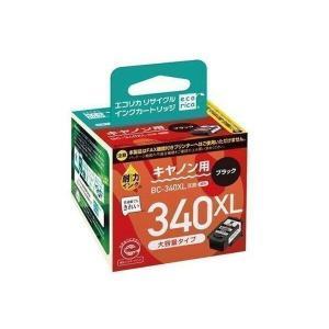 エコリカ リサイクルインクカートリッジ CANON ブラック 黒 キャノン BC-340XL互換インク ECI-C340XLB-V|1|bestone1