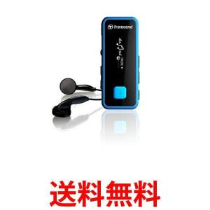 Transcend MP3プレーヤー 耐衝撃 MP350 8GB ブルー TS8GMP350B トランセンド ポータブル 録音