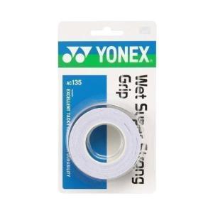 ヨネックス AC135-011 ホワイト ウェットスーパーストロンググリップ YONEX