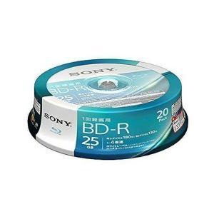 SONY 20BNR1VJPP4 ソニー ビデオ用 ブルーレイディスク BD-R 記録用 25GB 4倍速 20枚パック インクジェット対応 BD BNR1VJPP4|1|bestone1