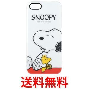 グルマンディーズ sng-146a ピーナッツ iPhoneSE / 5s / 5対応 ソフトジャケット スヌーピー&ウッドストック|1|bestone1