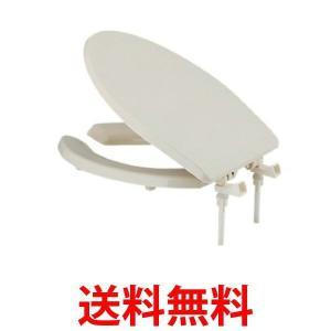 KAKUDAI 233-815 カクダイ 233815 トイレ補修 前割便座 標準 大型サイズ 兼用 パステルアイボリー|bestone1