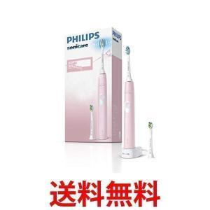 フィリップス ソニッケアー 電動歯ブラシ プロテクトクリーン パステルピンク HX6806/65||