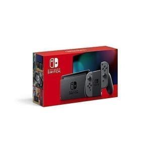 Nintendo Switch 本体 Joy-Con(L)/(R) グレー(バッテリー持続時間が長く...