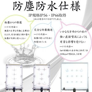 LED 投光器 SHIFT 933ルーメン 広角レンズ 140度 直流電源 交流電源 両用 シフトA 本体のみ 12V/AC100V〜200V ジーブレーン アウトドア 防じん・防水|bestone1|03