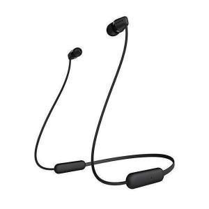 SONY ワイヤレス イヤホン WI-C200(B) 送料無料