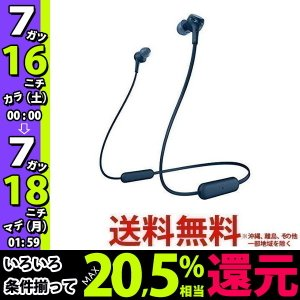 SONY ワイヤレス イヤホン WI-XB400(L)