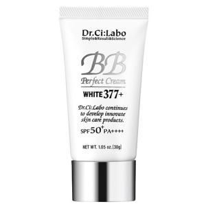 ドクターシーラボ BBパーフェクトクリーム WHITE(ホワイト) 377プラス (2016リニューアル) 30g[4086] Dr.CILABO 郵便送料無料|bestone