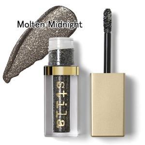 スティラ グリッター&グロウ リキッド アイシャドウ 4.5ml #Molten Midnight[2056][P2] 郵パケ送料無料|bestone
