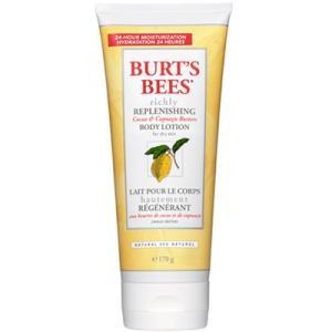バーツビーズ ココア&クプアス ボディローション 170g Burt's Bees|bestone