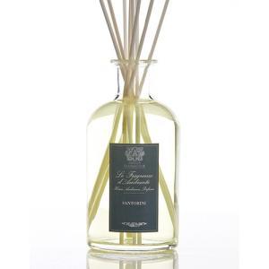 アンティカ ファルマシスタ ルームディフューザー 250ml サントリーニ (スティック付/0777)[1668] ルームフレグランス 香水 アロマデ 送料無料|bestone