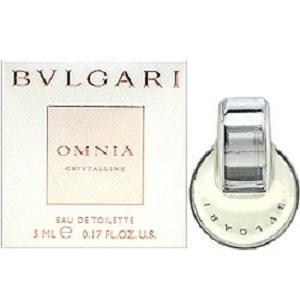 ブルガリ オムニア クリスタリン EDT 5ml ミニ香水[6037][TG50] 郵便送料無料|bestone
