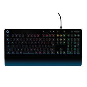 Logicool G ゲーミングキーボード G213 ブラック メンブレンキーボード 静音 日本語配...