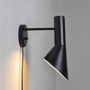 Arne Jacobsen (アルネ・ヤコブセン) AJ ウォールランプ AJ Wall lamp 壁掛けライト (リプロダクト品) - ブラック / 送料無料|bestsupplyshop