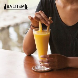 BALIISM Bamboo Straw / 竹でできた天然素材のストロー [10本セット]|bestsupplyshop