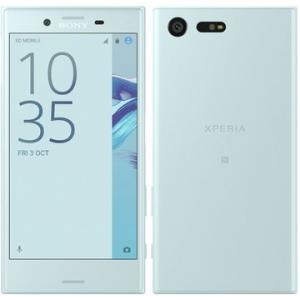 [再生新品] 海外SIMシムフリー版 Sony XPERIA Xperia X Compact F5321 本体 32GB 水色ミストブルー / 送料無料|bestsupplyshop