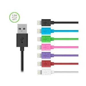 belkin ベルキン MFI認証品 USB Lightningケーブル/ライトニングケーブル for iPhone6,6Plus/5S/iPad ブラック黒 1.2m|bestsupplyshop|03