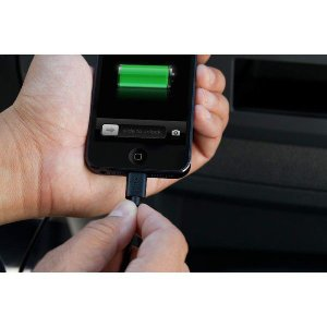 belkin ベルキン iPhone 7/6/SE iPad対応 MFI認証品 高出力2.1A USBカーチャージャー (ライトニングケーブル1.2m付) F8J078bt04-BLK【商品コード 35】|bestsupplyshop|03