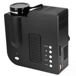 [送料無料]iPhone,iPad対応 LED小型ポータブルプロジェクター UC28 HDMI/AV/USB/SD/VGA対応 -黒ブラック [商品番号:139]|bestsupplyshop|03
