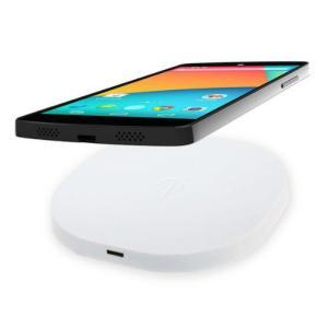 置くだけ充電 Qi規格ワイヤレス充電器2(ホワイト) 動作確認機種: Google Nexus4,Nexus5,Nexus7,iPhone5,5S,5C|bestsupplyshop