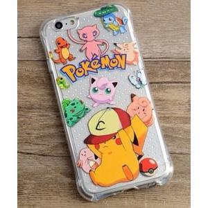 iPhone6/6s 用(4.7インチ) TPUソフトケース「ポケモンGO ピカチュウとモンスターボール」|bestsupplyshop