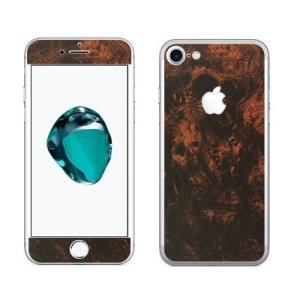 iPhone8/7(8Plus/7Plus)用 カスタムデザイン液晶フィルム シール(ウッドバール)|bestsupplyshop