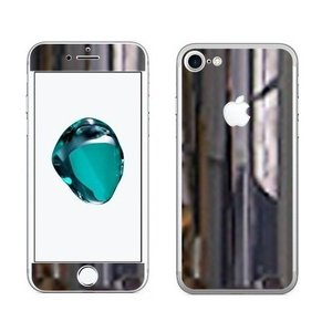 iPhone8/7(8Plus/7Plus)用 カスタムデザイン液晶フィルム シール(メタリックミラークローム)|bestsupplyshop