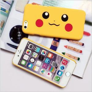 iPhone7 ケース(4.7インチ) ポケモンGO ピカチュウ つや消しマットハードケース(プラスチック)|bestsupplyshop